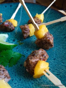 Jerk Appetizer Bites with Mango