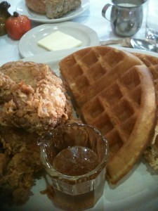 Ina's Fried Chicken & Waffles