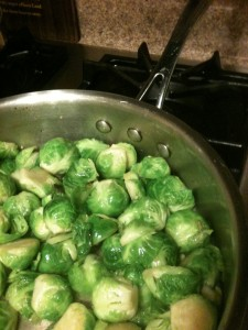 Brussels Sprouts with Lemon Zest