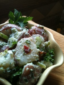 Bacon, Kale 'N Potato Salad