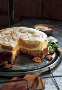 Sweet Potato Swirl Cheesecake