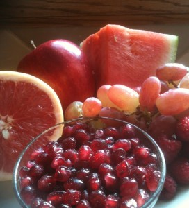 Assorted Red Fruit