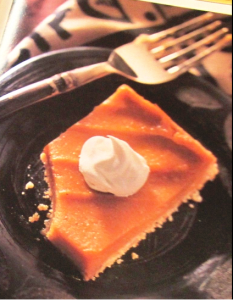 All the flavor of sweet potato pie, and just a fraction of the calories. (Photo courtesy of Pillsbury Fast & Healthy magazine)