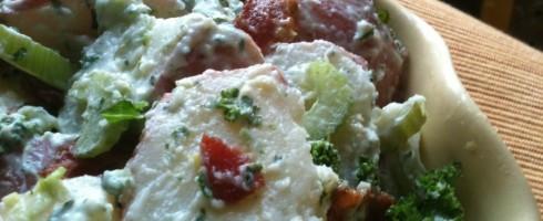 Bacon Kale 'N Potato Salad